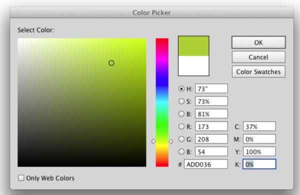 green-selector